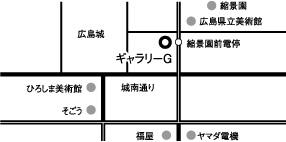 ギャラリーGアクセスマップ