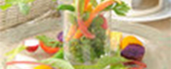 美しい野菜のバーニャカウダ