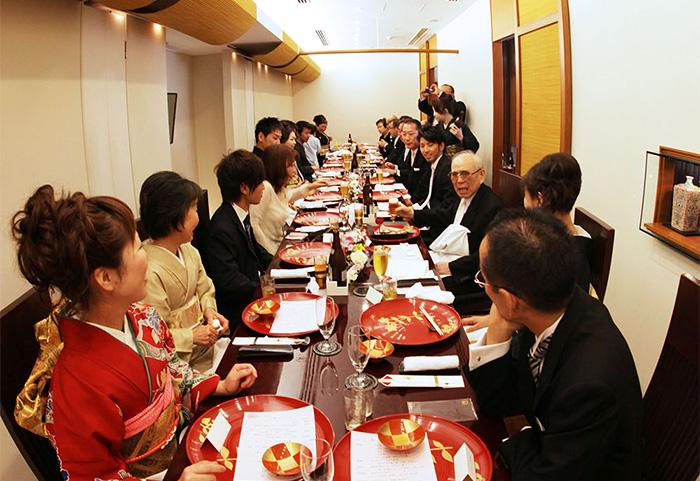 日本料理 三嵋のウェディング