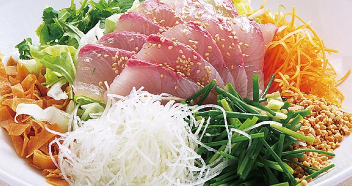 鮮魚のまぜまぜサラダ