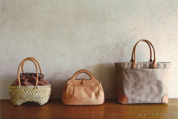 【終了】ミントチュチュレザー「いろいろな素材で作った鞄展」 イメージ