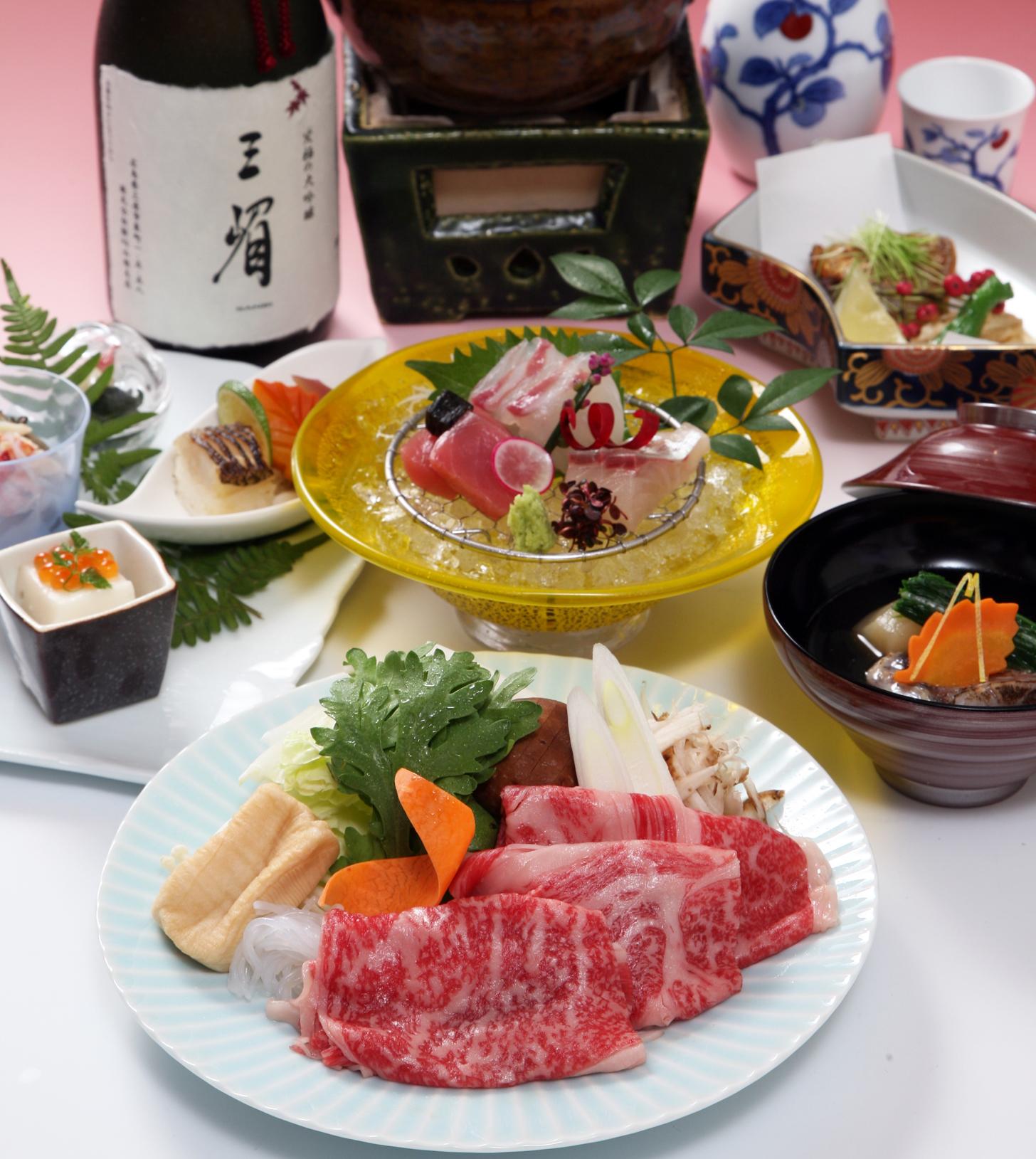 広島牛すき鍋会席